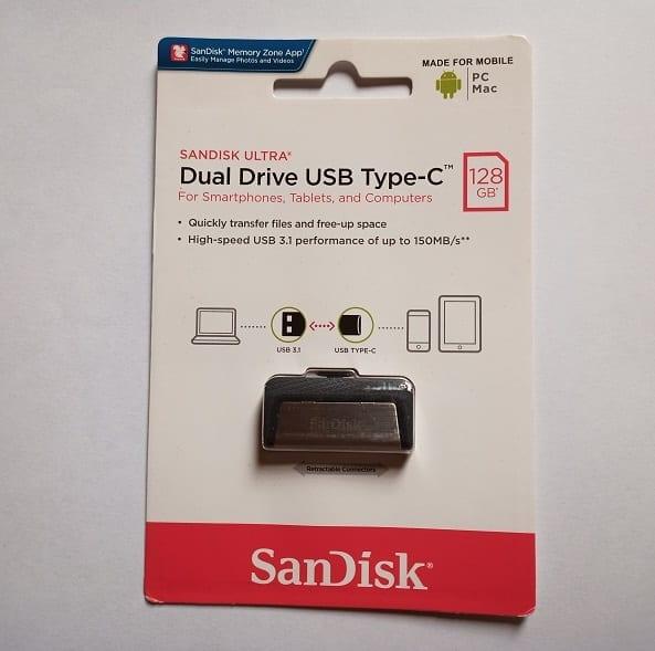 SanDisk Ultra Dual Drive USB Type C Pack