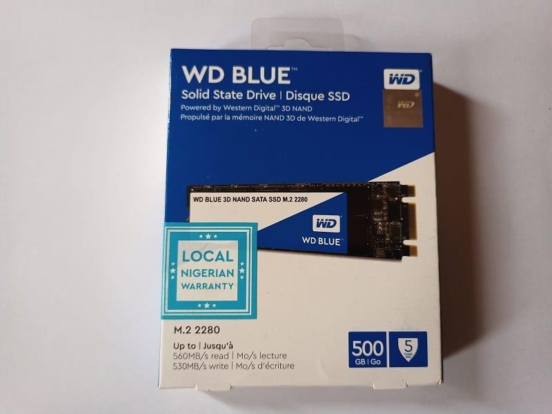 WD Blue 3D SATA SSD M.2 2280