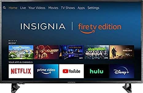 Insignia DF311SE31 Smart TV - Fire TV Edition
