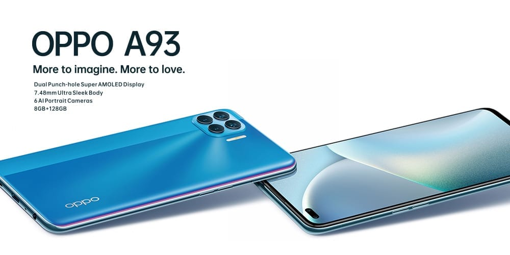 Oppo A93 Launch with Laycon