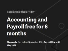 Sage Accounting Black Friday Deals 2020 (UK)
