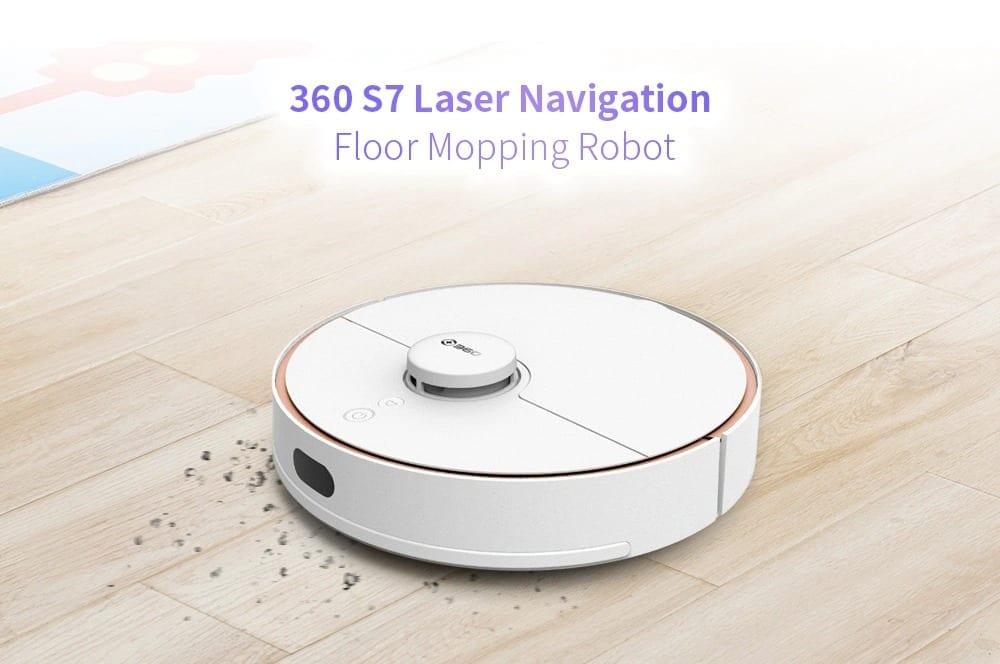 360 S7 Robotic Vacuum