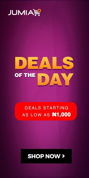 Jumia Nigeria Deals of the Day