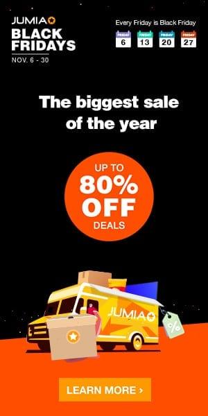 2020 Jumia Black Friday Deals