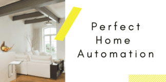 Lifting Column perfect for Home Automation