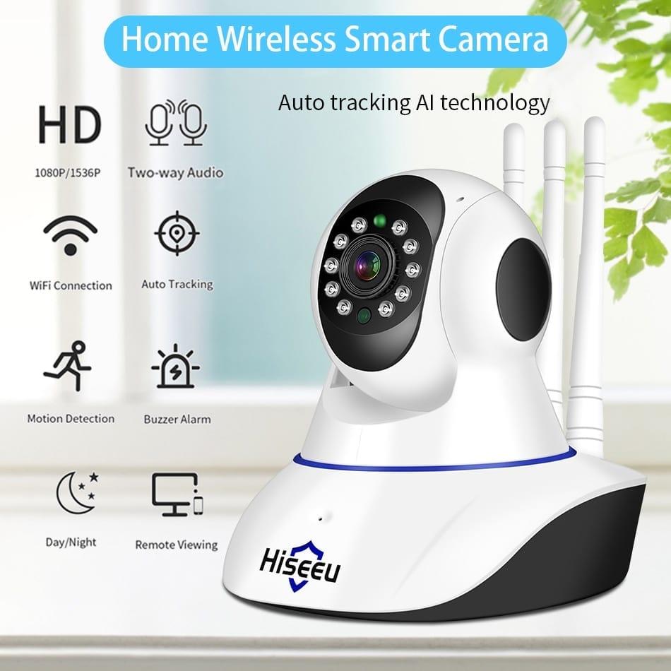 Hiseeu 1536P Wireless Smart Home Security Camera