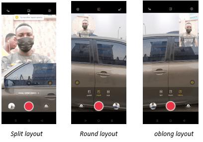 Oppo Reno5 F Camera Dual View Feature