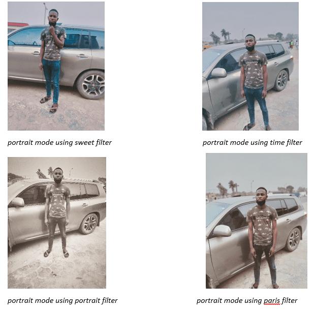 Portrait Mode Filters