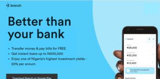 Branch Instant Loan App