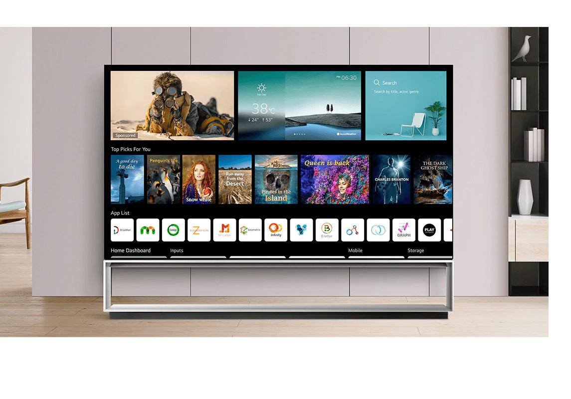LG Z1 8K OLED TV