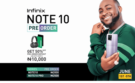 Preorder the Infinix Note 10