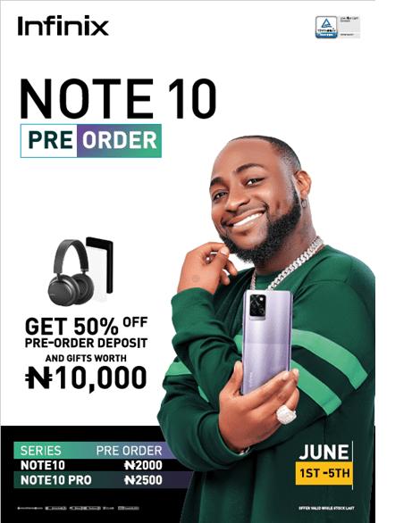 Infinix Note 10 Preorder