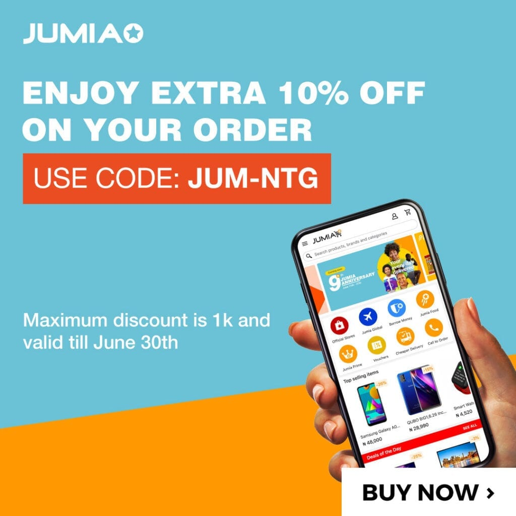 Jumia Anniversary Voucher