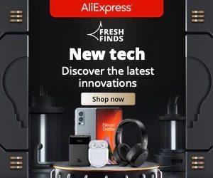 Aliexpress New Tech Deals
