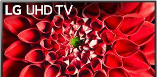 LG UN7100 4K LED TV