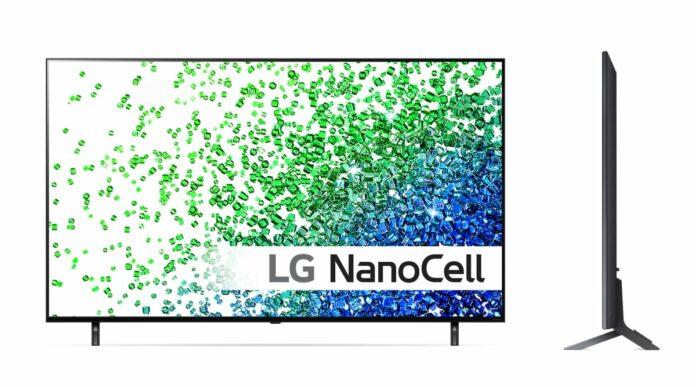 LG Nano80 2021 TV