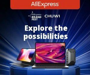 Aliexpress Chuwi Brand Fest