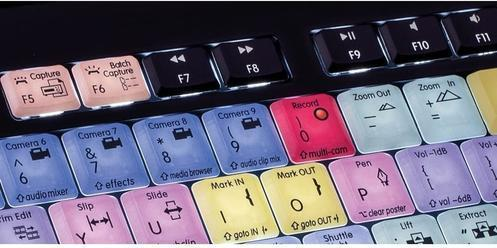 Logickeyboard Premiere Pro CC Mac - best keyboards for video editing