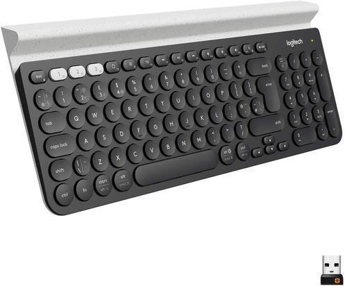 Logitech K780 Multi-Device Wireless Keyboard - best keyboards for video editing
