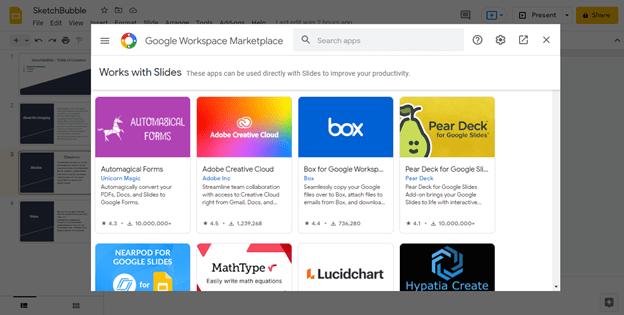 Google Slides Add-on