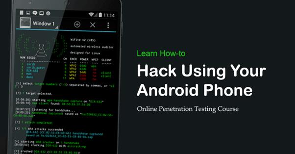 Hacking an Android Phone By Sending A Link