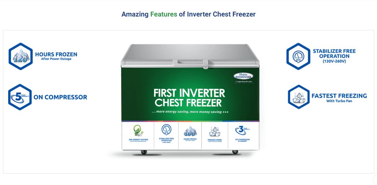 Thermocool Inverter Chest Freezer