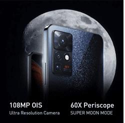 108MP OIS Enables Camera on the Infinix Zero X
