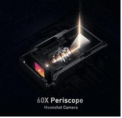 60X Periscope Moonshot Camera