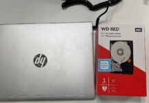 WD Red Hard Drive in Box