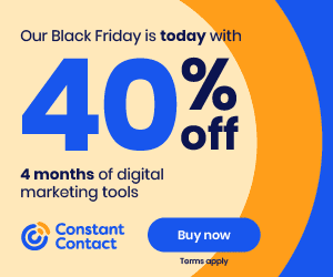 Constant Contact Black Friday