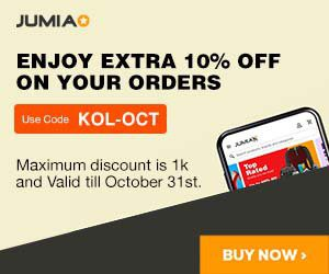10% Off your Orders on Jumia