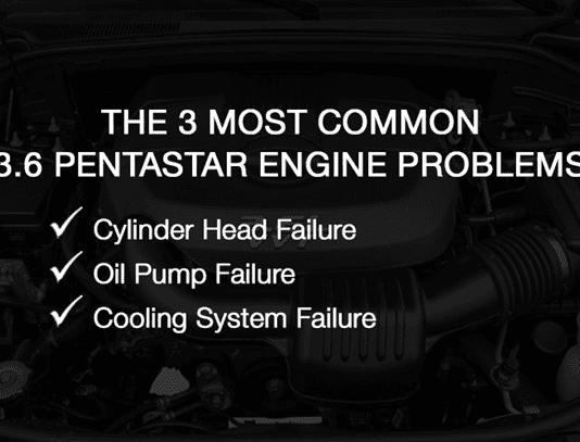 Most Common 3.6 Pentastar Engine Problems